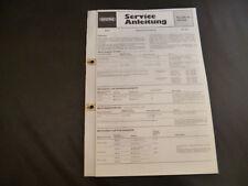 Original Service Manual Grundig  RF 412