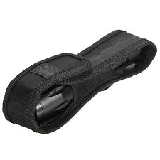17.5CM Nylon Funda LED Linterna Cinturón Bolsa de BEST Antorcha Flashlight