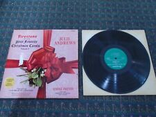 LP / RECORD - FIRESTONE PRESENTS YOUR FAVORIRE CHRISTMAS CAROLS JULIE ANDREWS