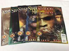 SHADOWMAN #1-7 (ACCLAIM/VALIANT/ASHLEY WOOD/091572) COMIC BOOK SET OF 5