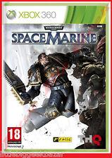 SPACE MARINES X-box 360 WARHAMMER 40000 xbox Microsoft Jeu Video Blister # NEUF#