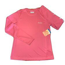 Columbia Rapid Creek Sun Protection Shirt UPF50 Long Sleeve Womens Small NEW