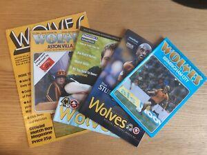 Wolves Home Football Programmes