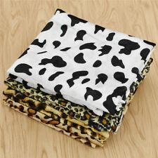 Faux Fur Fabric Animal Patterns Printed Bedding Fabric DIY Sewing Supplies