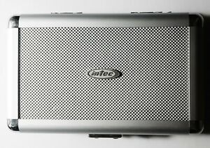 Intec Sony PSP Hard Metal Aluminum Game Console Handheld Portable Carrying Case