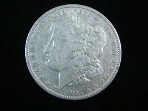 1901 Morgan Silver Dollar Fine 71016