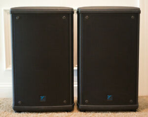 """Yorkville NX55p 12"""" Powered Speakers (pair) / With Speaker Stands"""