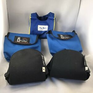 Lot Of 5 Fishing Reel Protective Bag / Case / Pouch / Cover - Fresh & Salt Water