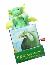 Puff The Magic Dragon, Jack in The Box Plush Baby Toy Brand New