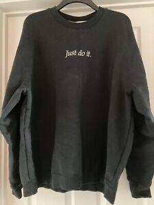Nike Thick Black Sweatshirt Size XL