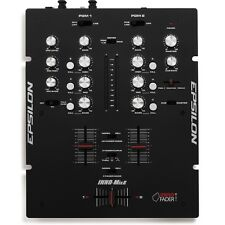 Epsilon Inno-Mix2 - 2 Channel DJ Mixer Battle Mixer fitted with mini innoFADER