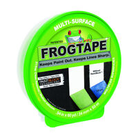 FrogTape  0.94 in. W x 60 yd. L Green  Medium Strength  Painter's Tape  1 pk