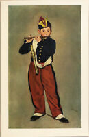 Edouard Manet Young Flautist (Fifer) Lithograph Art 26-1/4 x 17