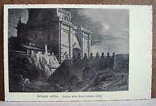 Bologna antica - Esterno della Porta Galliera (1817) [piccola, b/n, non viagg.]
