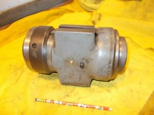 CINCINNATI No. 2 TOOL & CUTTER GRINDER WORKHEAD 50 taper x 12 B&S