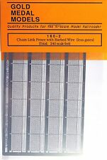 Gold Medal Models 160-2 - Chain Link Fence Extension - N Scale
