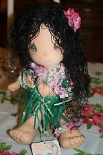 "Precious Moments ""The World''s Children"" ...Hawaii Cloth Doll"