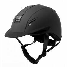 John Whitaker VX2 Plain Helmet-Riding Hat-Competition Approved-Navy-Black