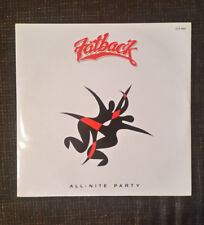 Fatback* ‎– All-Nite Party Label: ZYX Records ‎ Format: Vinyl, 12""