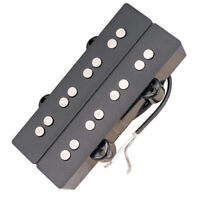 Schwarzer 4 Saiter Bassgitarren Pickup Humbucker Doppelspule für E Bass