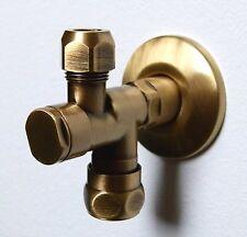 """modernes Eckventil mit Filter, ½"""" x 10mm, Bronze-gebürstet, Bronze"""