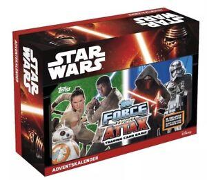 Disney Adventskalender Star Wars Force Attax D105363 Advent Weihnachten