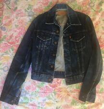Levis Blue Denim Jacket Womens STYLE  70506