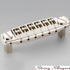 Schaller 'Signum' Locking Stop Tail & Wraparound Bridge, Nickel 12350100