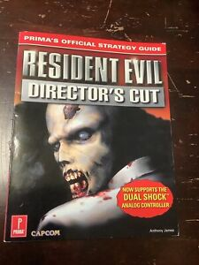 1998 Resident Evil Director's Cut Prima Strategy Guide Capcom Sony PlayStation
