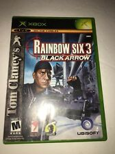 Rainbow Six 3 Black Arrow-Xbox-Us Xbox-Tested-Collectible Vintage-Fast Ship