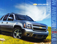 2007 Chevrolet Chevy Avalanche 28-page Sales Brochure - Truck