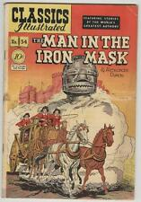 Classics Illustrated #54 December 1948 Vg Man In The Iron Mask