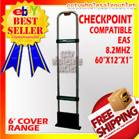 CHECKPOINT Compatible 8.2Mhz EAS SecurityAntenna Anti Theft-MADE IN USA+HARD TAG