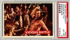 1956 Davy Crockett # 29A  Vicious Battle - PSA 6