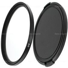 49mm UV Filter & Objektivdeckel lens cap Green.L für 49 mm Einschraubanschluss