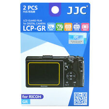 JJC LCP-GR LCD Guard Film Camera Screen Display Protector for Ricoh GR DSLR