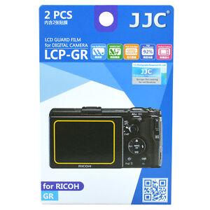 JJC LCP-GR LCD Guard Film Camera Screen Display Protector for Ricoh GR DSLR