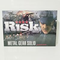 Risk: Metal Gear Solid Game Collector's Edition - New