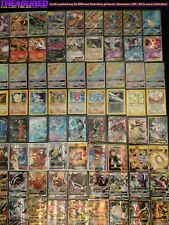 Official Pokemon TCG Binder MEGA Collection 50+ Cards Box holo lot pack EX GX FA