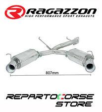 RAGAZZON SCARICO SDOPPIATO 2 / 2X102MM ALFA GTV 916 SPIDER 2.0 16V 114kW 155CV