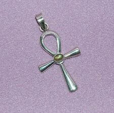 Silver Ankh ~ Represents Zest, Joy Of Life & Energy ~ Gift Boxed!!