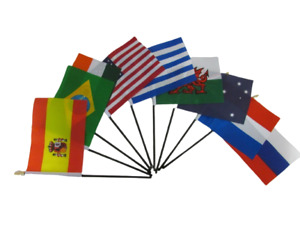 Table Desk Top Flag All Countries No Base Huge Choice FREE UK Delivery!