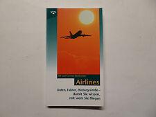 Libro, koblischke, Airlines, datos, hechos, fondos, VGS 1997