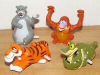 Disney Jungle Book McDonalds Happy Meal Windup Toys Complete Set of 4 (1990) 060