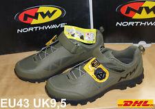 Northwave© Corsair Schuhe Herren Forest - grün 43 SPD MTB Schuhe Enduro / CC