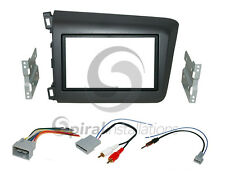 Radio Dash Kit Combo Standard 2DIN + Wire Harness + AUX Retention + Antenna HO97