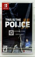 This Is the Police 2 - Nintendo Switch - Brand New | Factory Sealed