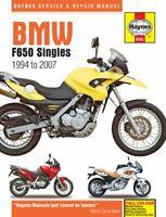 BMW F650 Singles (94-07) by Haynes Publishing 9780857338662 | Brand New