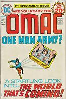 OMAC#1 FN/VF 1973 JACK KIRBY DC BRONZE AGE COMICS