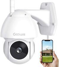 Security Camera Outdoor, Goowls 1080P Hd Pan/Tilt 2.4G WiFi Home Surveillance